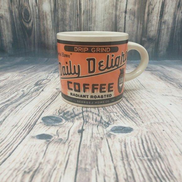 George J Howe Nostalgic Daily Delight Coffee Mug